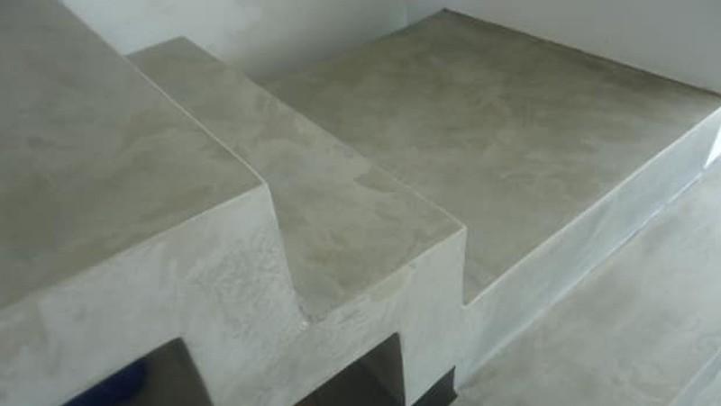 Mão de obra cimento queimado sp